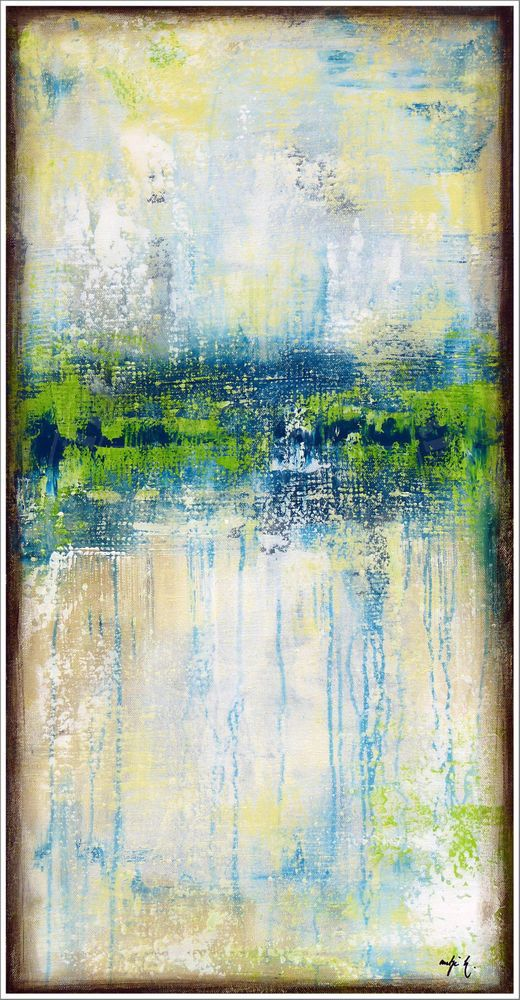 Antje hettner bild original kunst gem lde leinwand for Acryl malen ideen