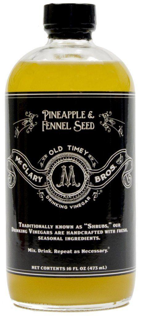 Pineapple & Fennel Seed Drinking Vinegar -