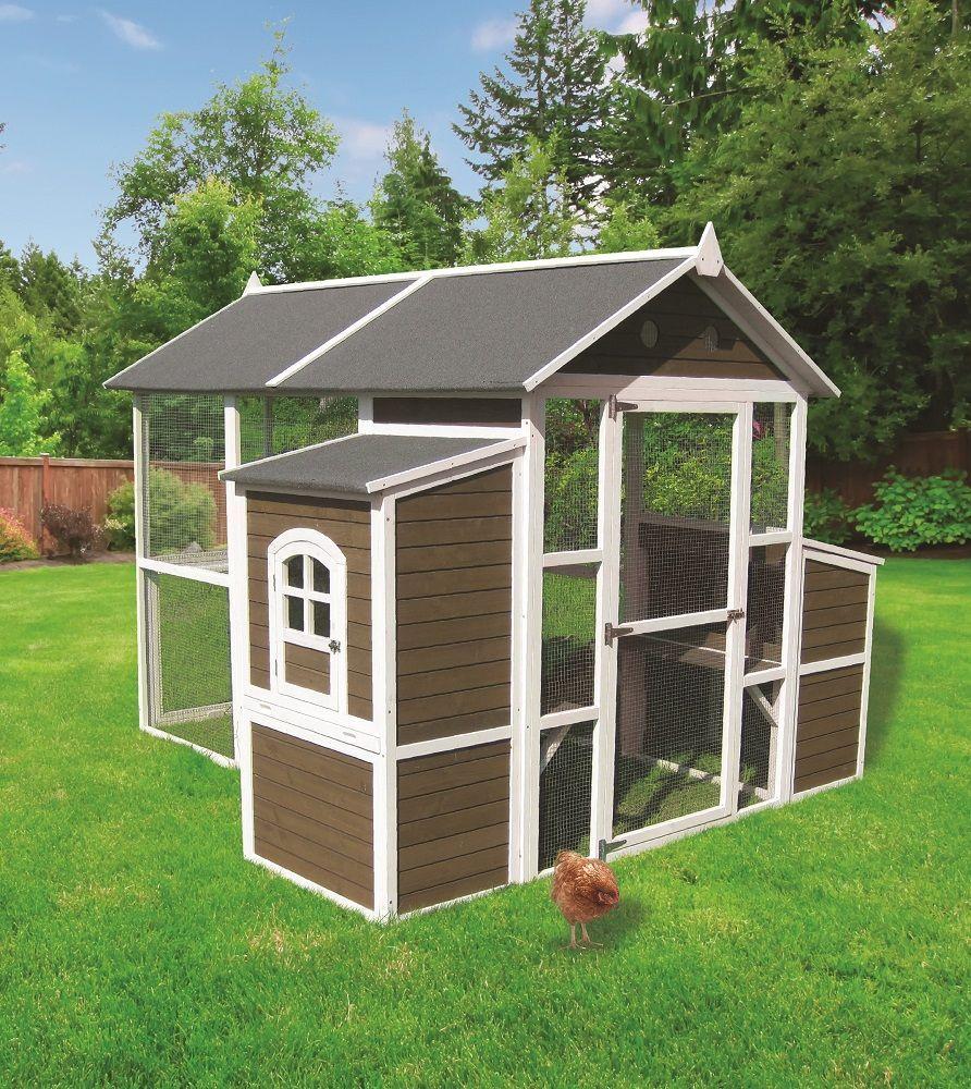 Large Barn Chicken Coop - 220-01L | Walk in chicken coop ...