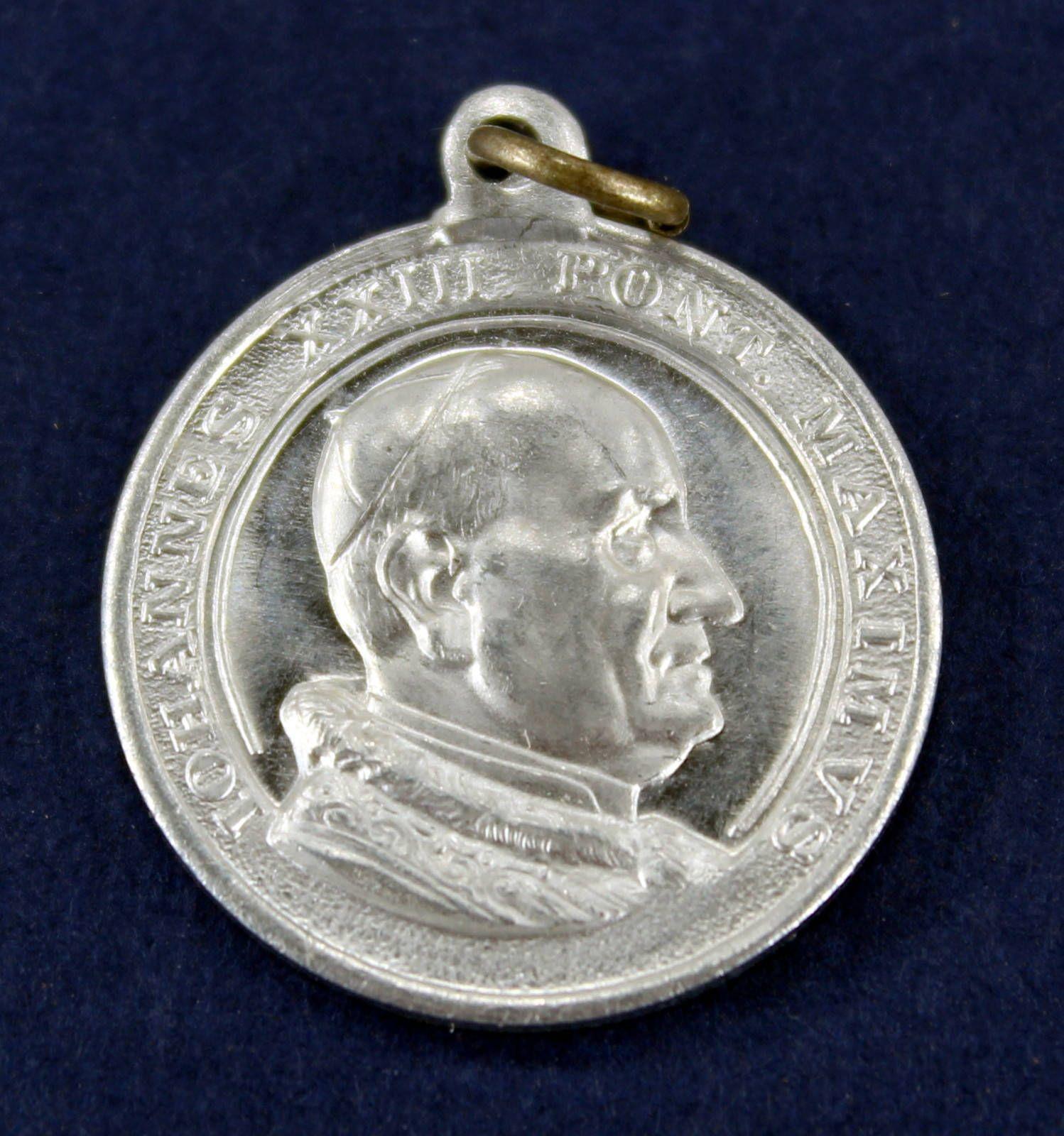 Pope John XXIII Pontifex Max Our Lady Perpetual Help Vintage