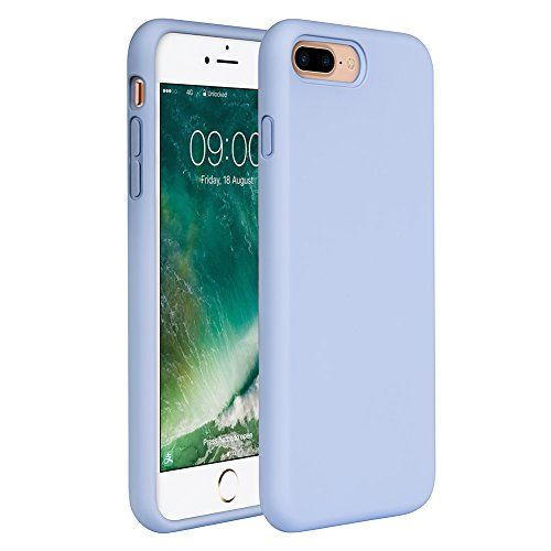 63f1390783 nice iPhone 8 Plus Silicone Case, iPhone 7 Plus Silicone Case Miracase Gel  Rubber Full Body Protection Shockproof Cover Case Drop Protection for Apple  ...