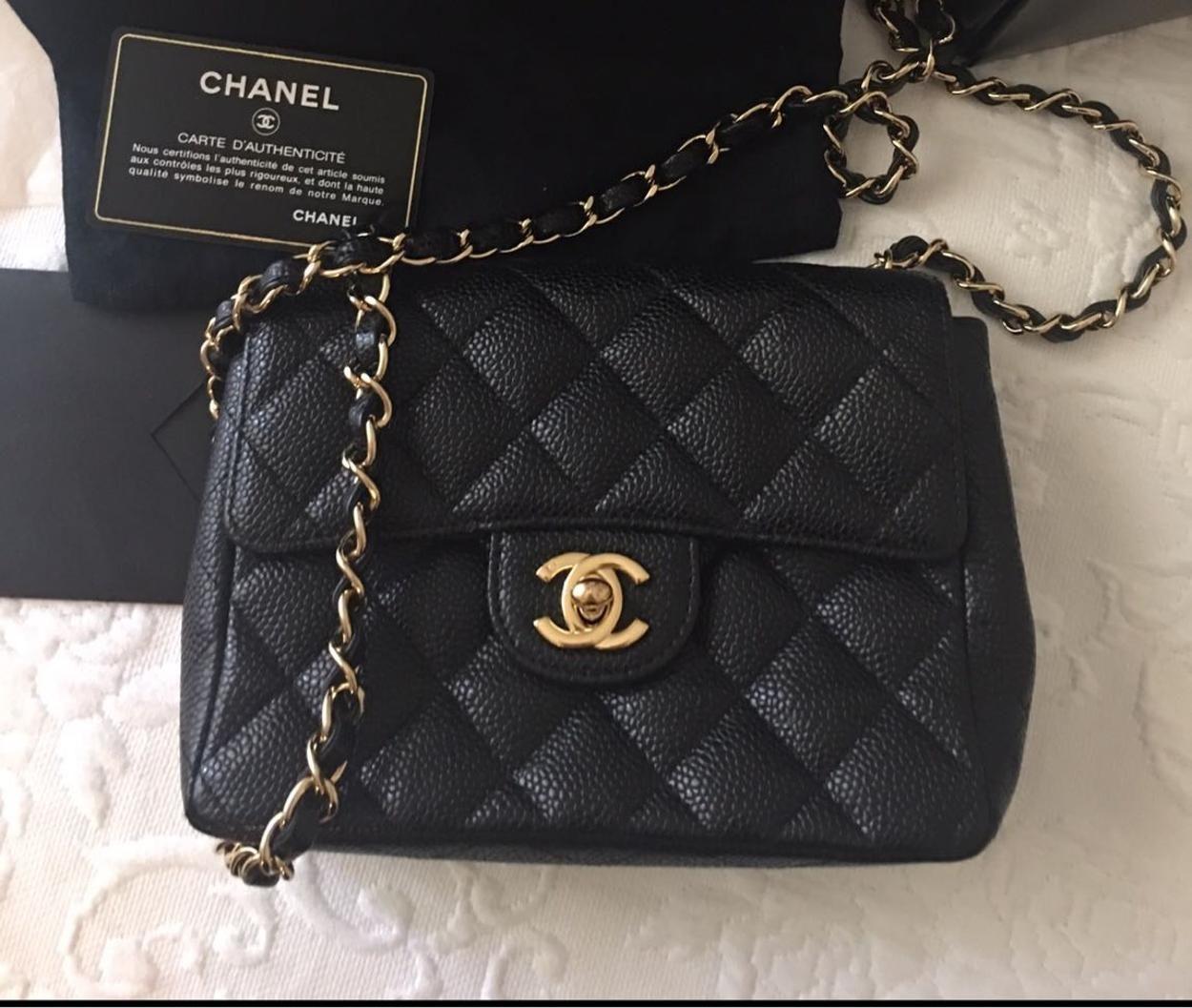 Chanel Kol Cantasi Siyah Canta Chanel Siyah Moda Luks Tarz Klasik Ikinci El Chanel Siyah Canta
