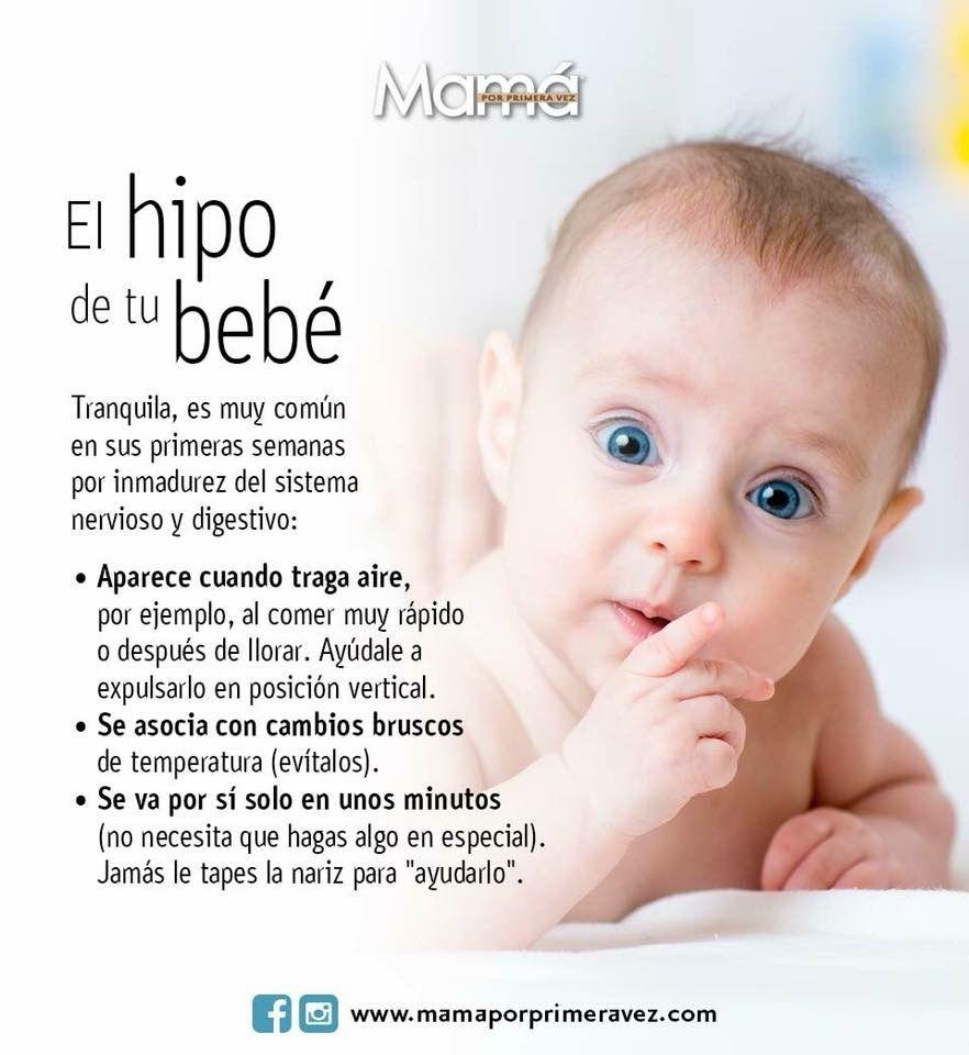 Como parar el hipo a un bebe