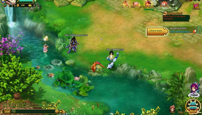 Warlord Saga Is A 2d Browser Based Free To Play Role Playing Mmo Game Mmorpg Set In The Three Kingdoms Period Mmo Mmo Games Mmorpg