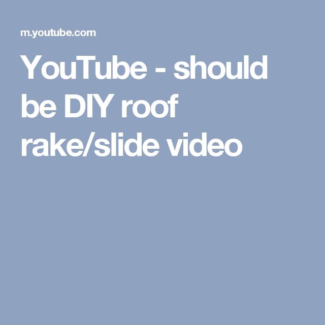 Snow Rake Roof Home Depot