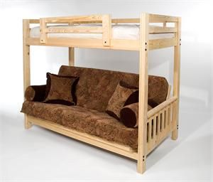 Bunk Bed With Futon Bottom He Wants A Bunk Bed So Bad So I M