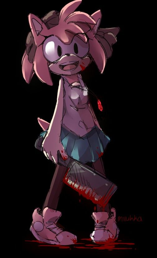 Yandere Amy Rose With Images Amy The Hedgehog Amy Rose