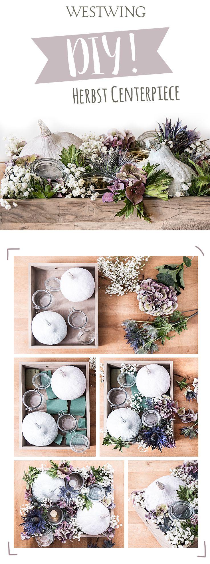 DIY Herbst Centerpiece Herbst dekoration, Ideen für