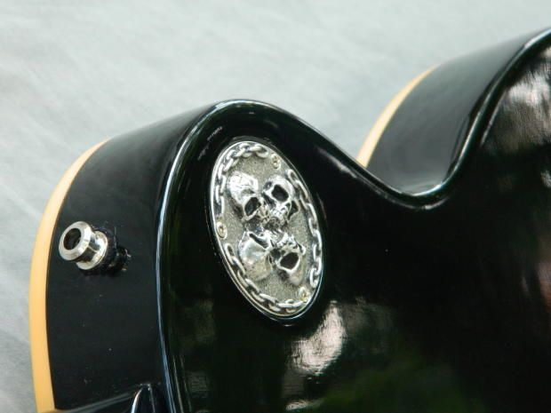 Skull Toggle Switch Cavity Back Plate Cover For Gibson Les Paul Guitar Custom Made Metal Part Sweet Les Paul Guitars Guitar Parts Gibson Les Paul