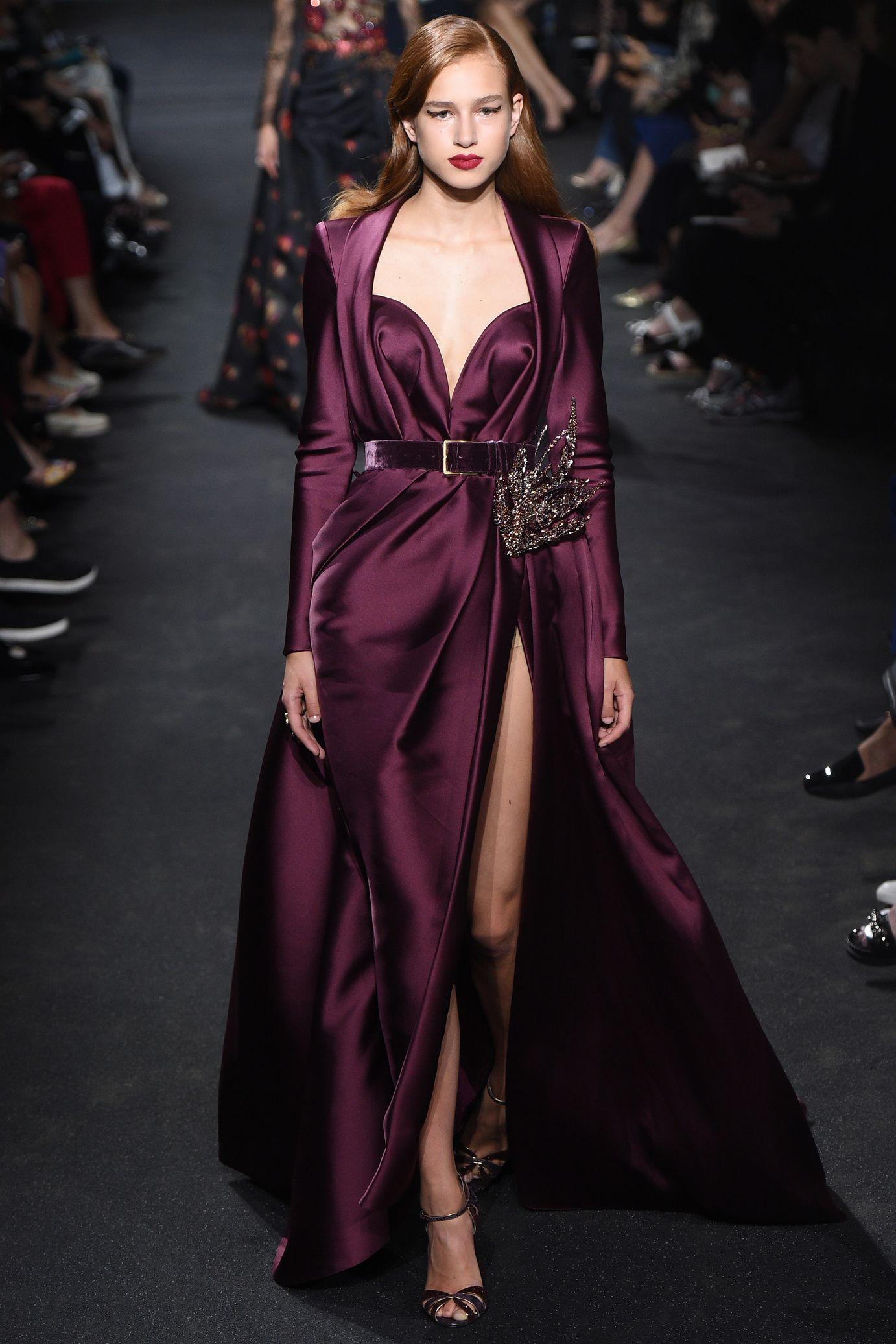 D fil elie saab haute couture automne hiver 2016 2017 for Haute couture