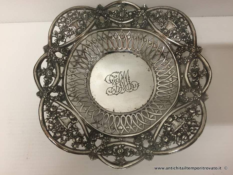 Argenti antichi oggetti vari in argento antico porta bon - Porta in tedesco ...