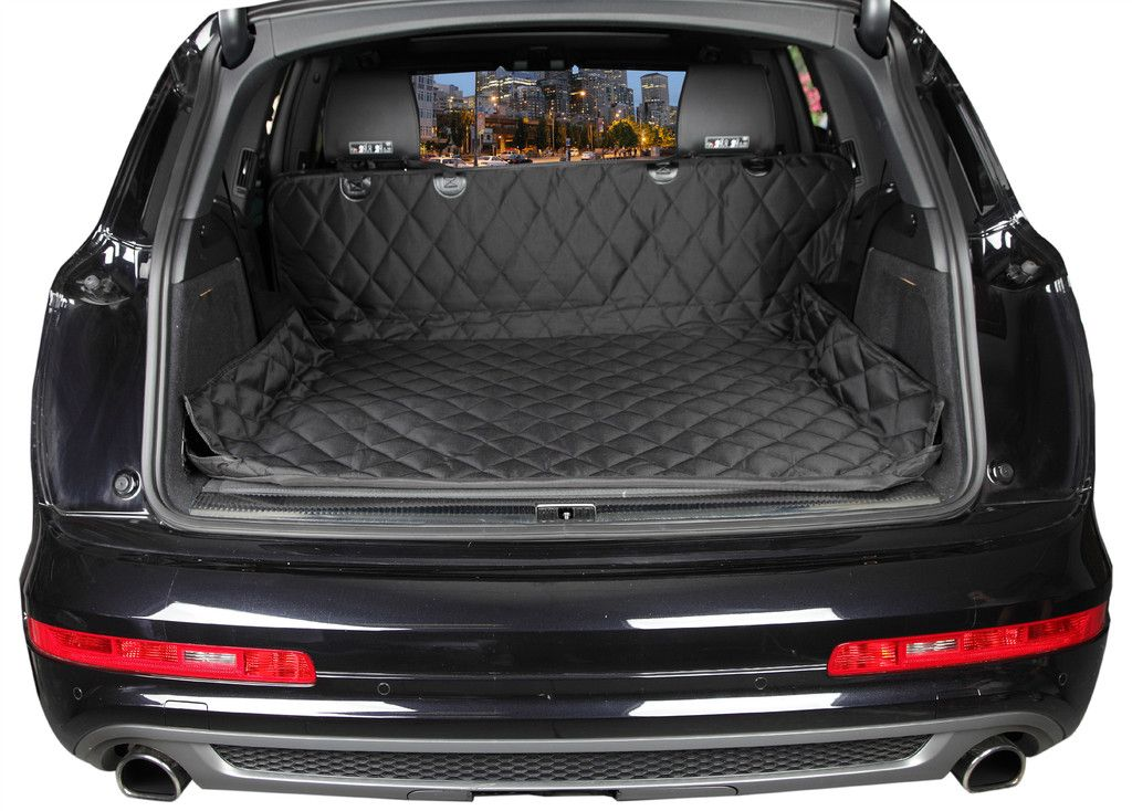 Suv Cargo Cover Liner For Dogs And Pets Large Grey