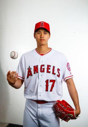 Los Angeles Angels-Media Day - Feb 22, 2018; Tempe, AZ ...
