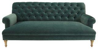 Cobble Hill Prince Tufted Sofa Vance Bermuda Contemporary Sofas By Abc Carpet Home