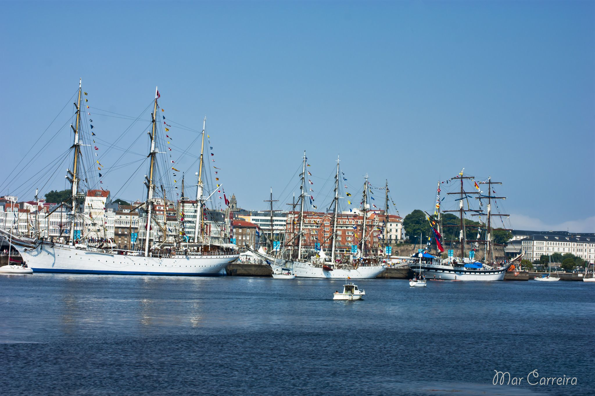Tall Ship Race 2016 A Coruña New York Skyline San Francisco Skyline Skyline