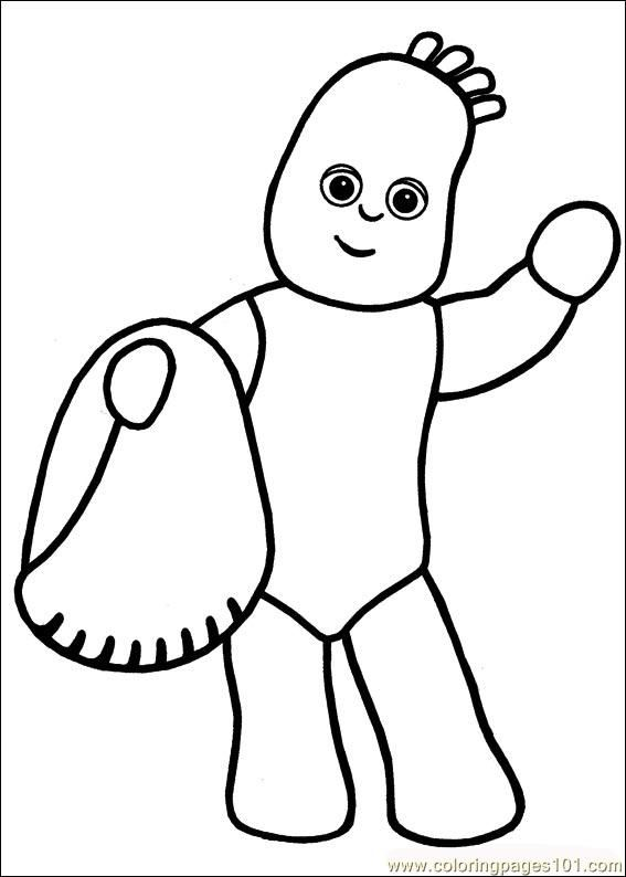 iggle piggle colour in | Birthday parties | Pinterest | Night garden ...
