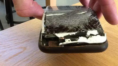 Esplode l'iPhone acquistato solamente 2 giorni prima