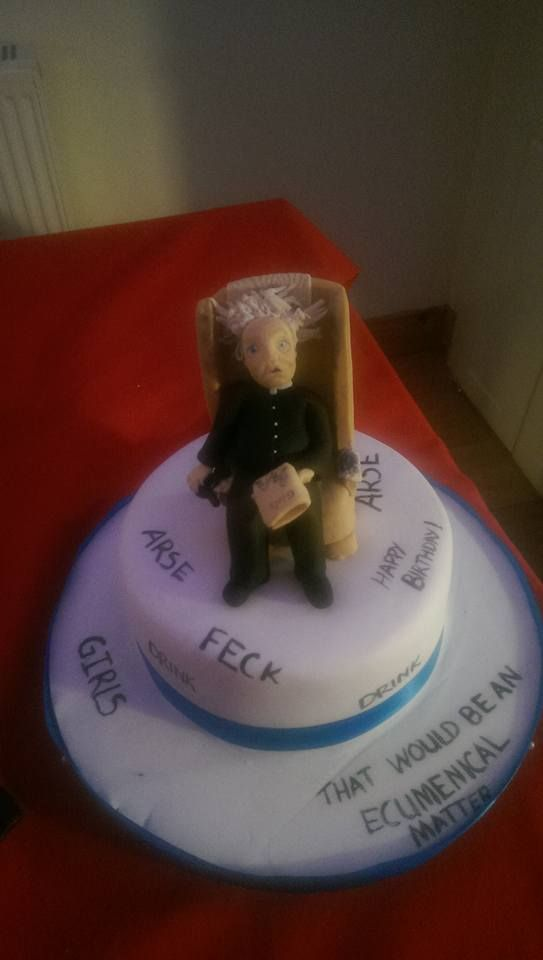 Father Ted Birthday Cake ClaudiaMiel Pinterest Father ted
