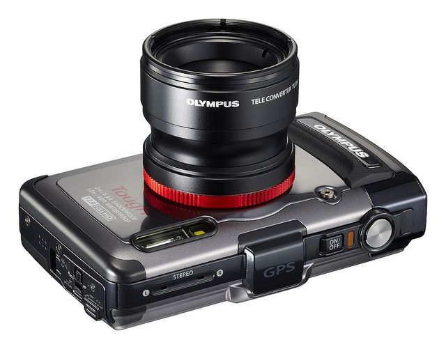 Olympus TG-1 iHS with Teleconverter Lens by getolympus, via Flickr
