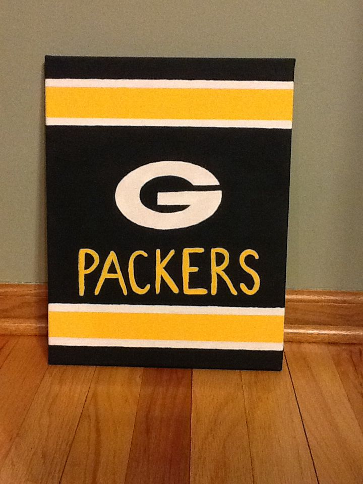 Green Bay Packers Canvas Art Canvas Art Canvas Painting
