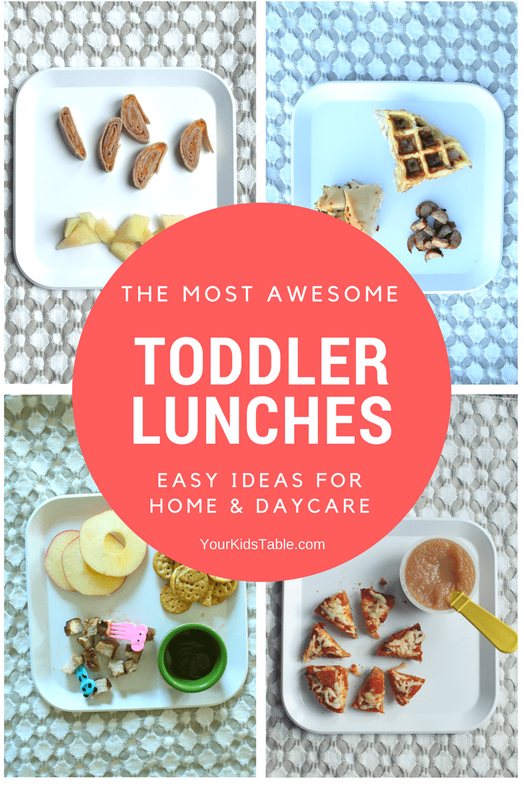 Toddler Lunch Ideas: Easy and Healthy for Home or Daycare images