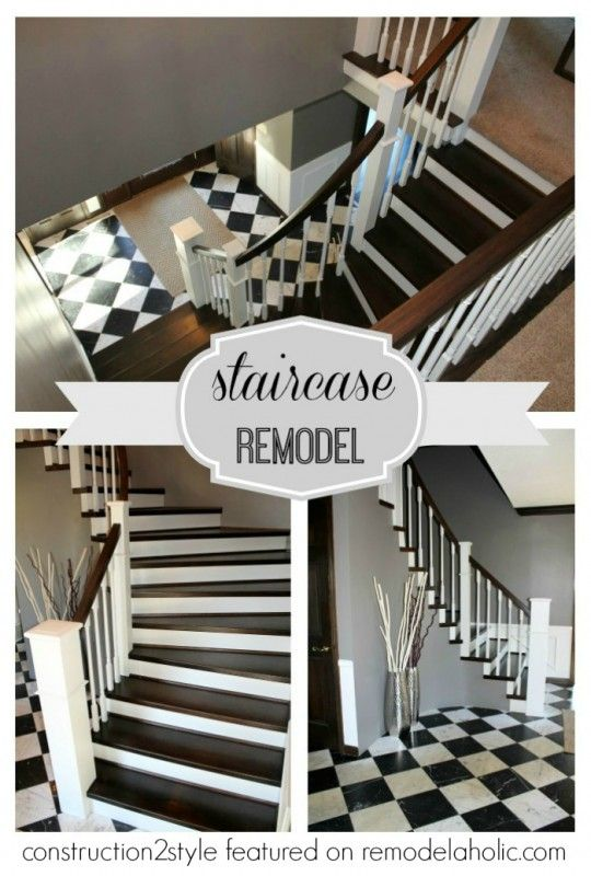 Best Curved Staircase Remodel Construction2Style Via 400 x 300