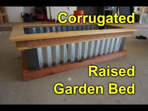 Corrugated Raised Garden Bed Diy Easy Build Project To 400 x 300