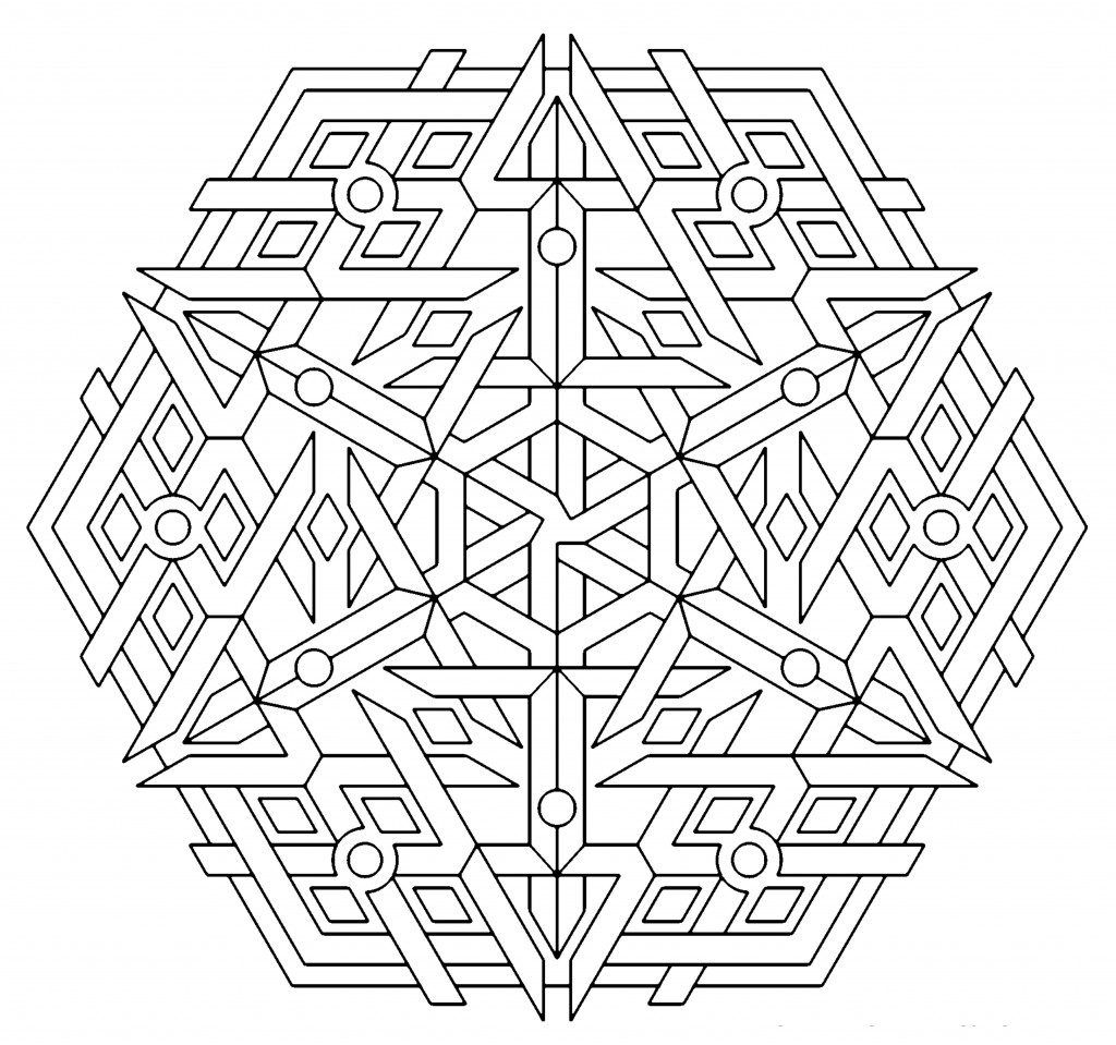 Mandala coloring pages free download - Geometry Coloring Pages Geometric Mandala Coloring Pages Az Coloring Pages Free Download