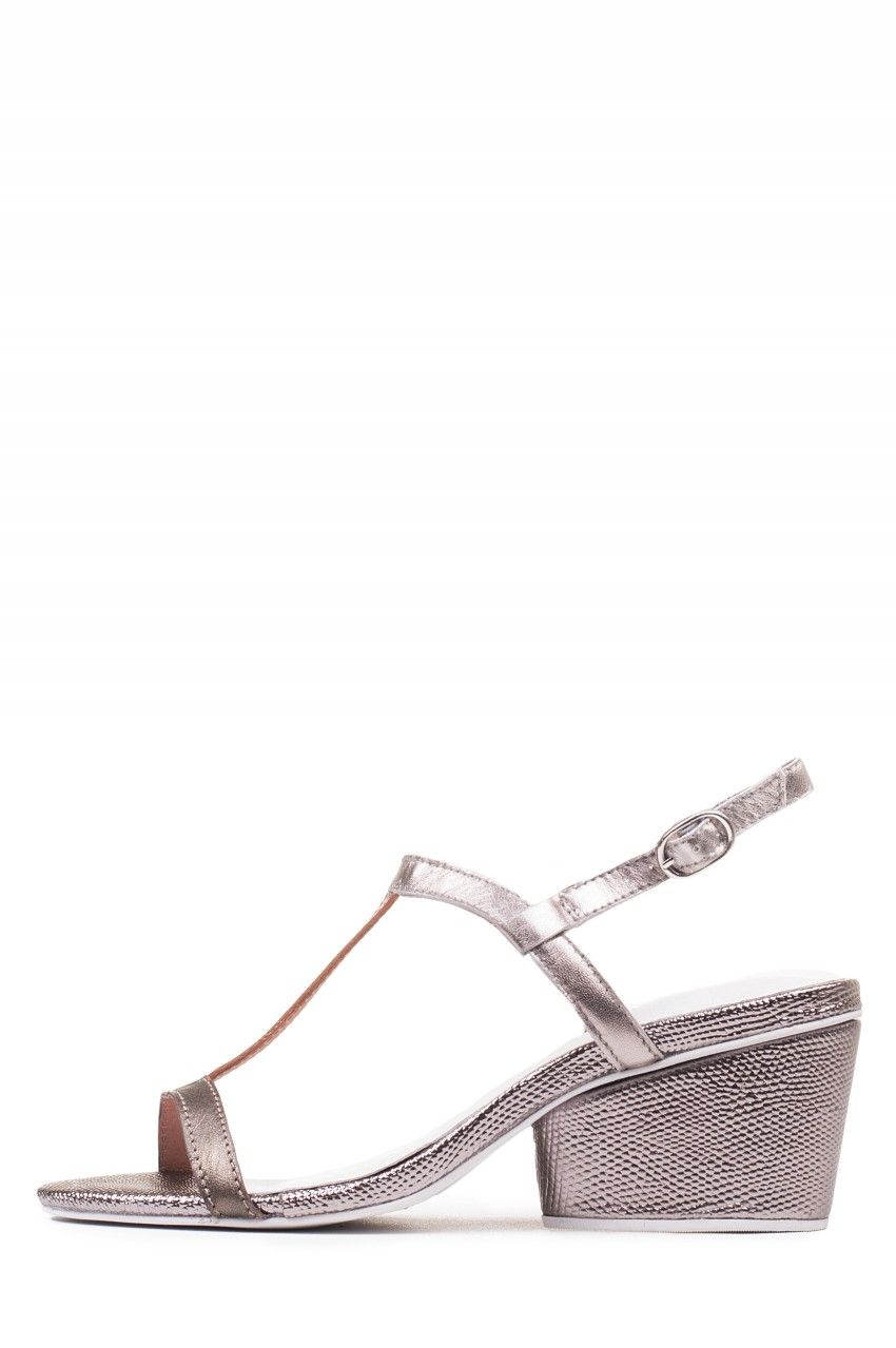 bab966ebfe1 Jeffrey Campbell Shoes TITANIA New Arrivals in Silver Bronze. Low Heel ...