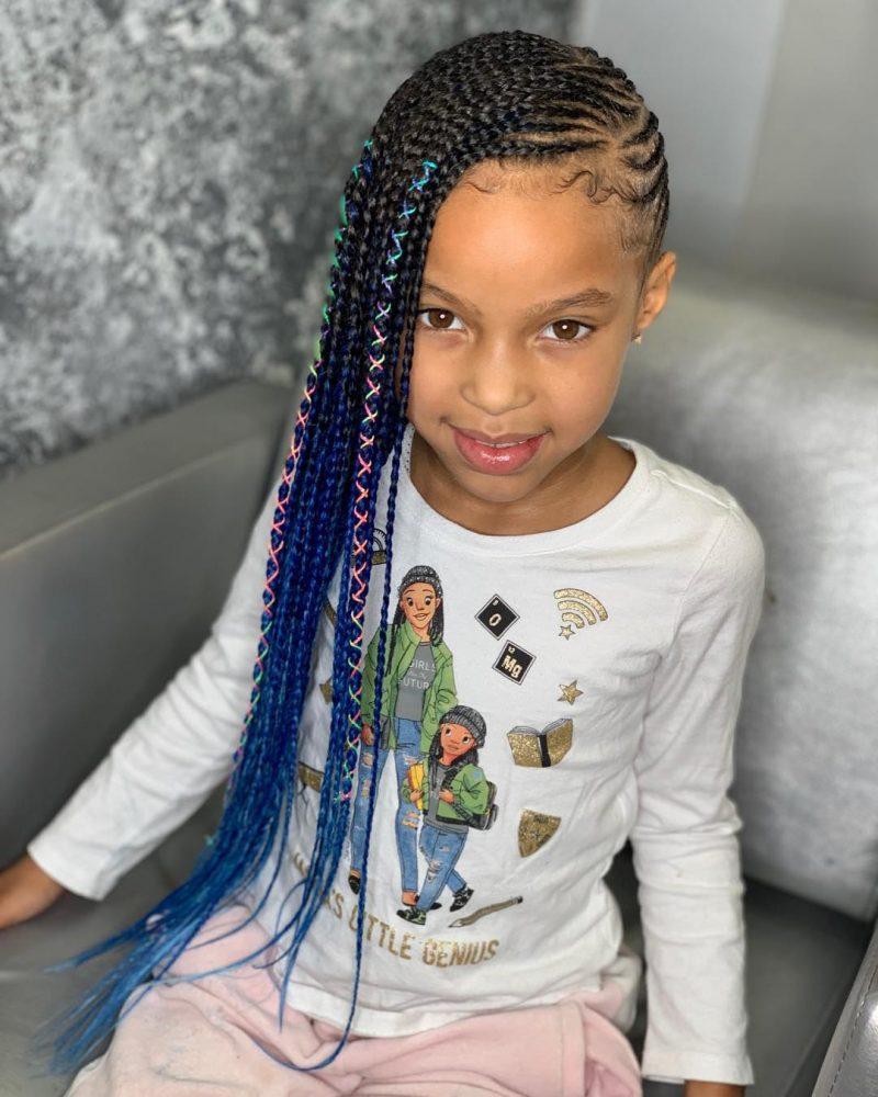 25 Braid Hairstyles For Little Girls That Will Make You Say Awwwww Thrivenaija Black Kids Hairstyles Black Toddler Girl Hairstyles Lil Girl Hairstyles
