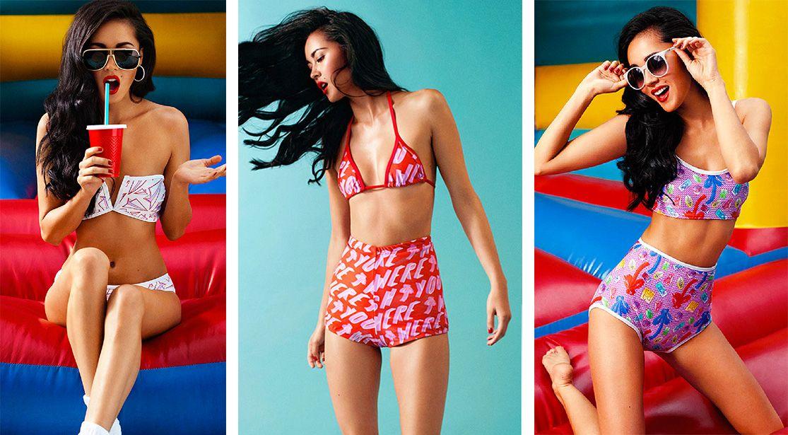 Digital Print Swimwear