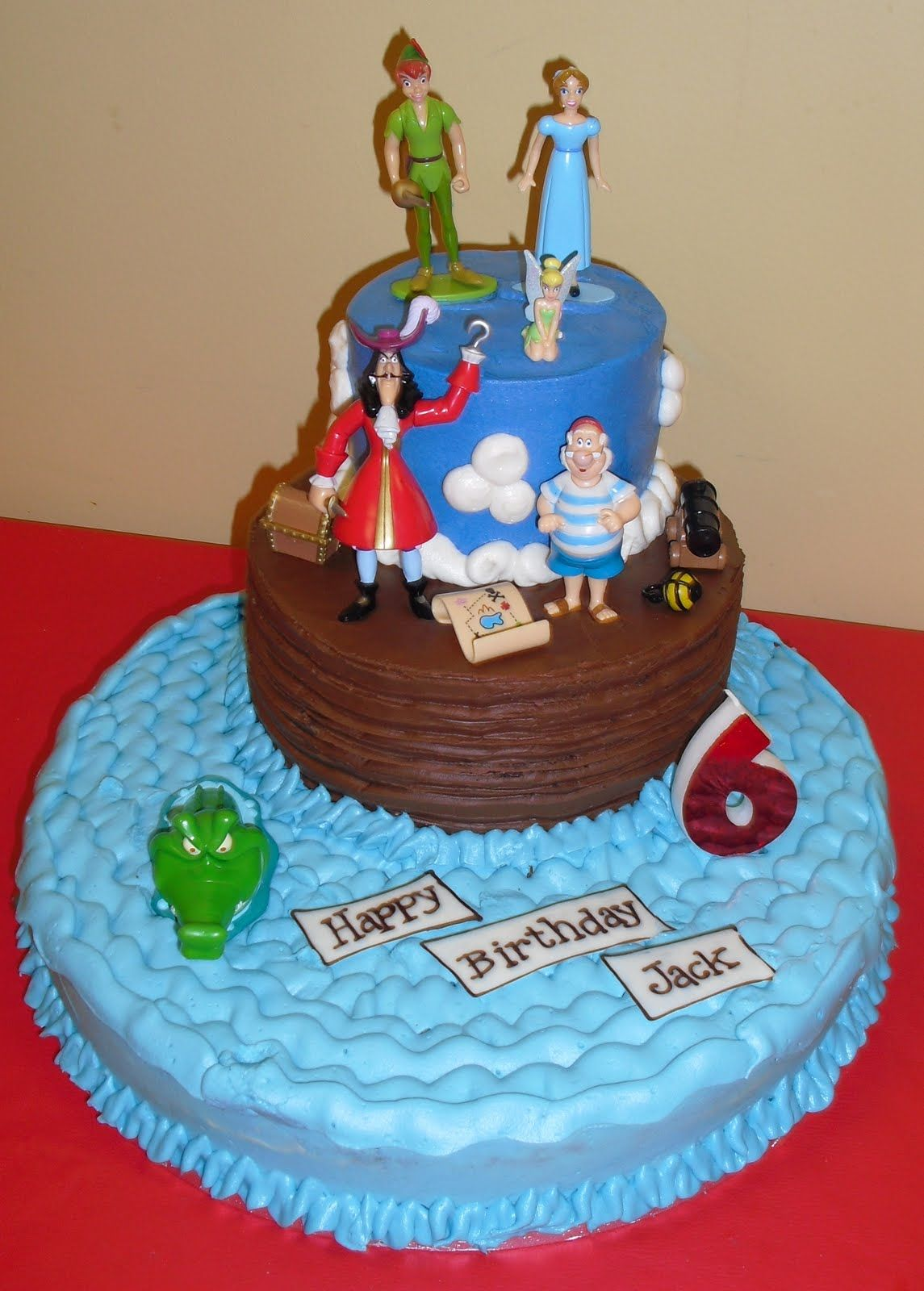 Sensational Peter Pan Birthday Cake Lauren Gordon This Is Doable Right Personalised Birthday Cards Paralily Jamesorg