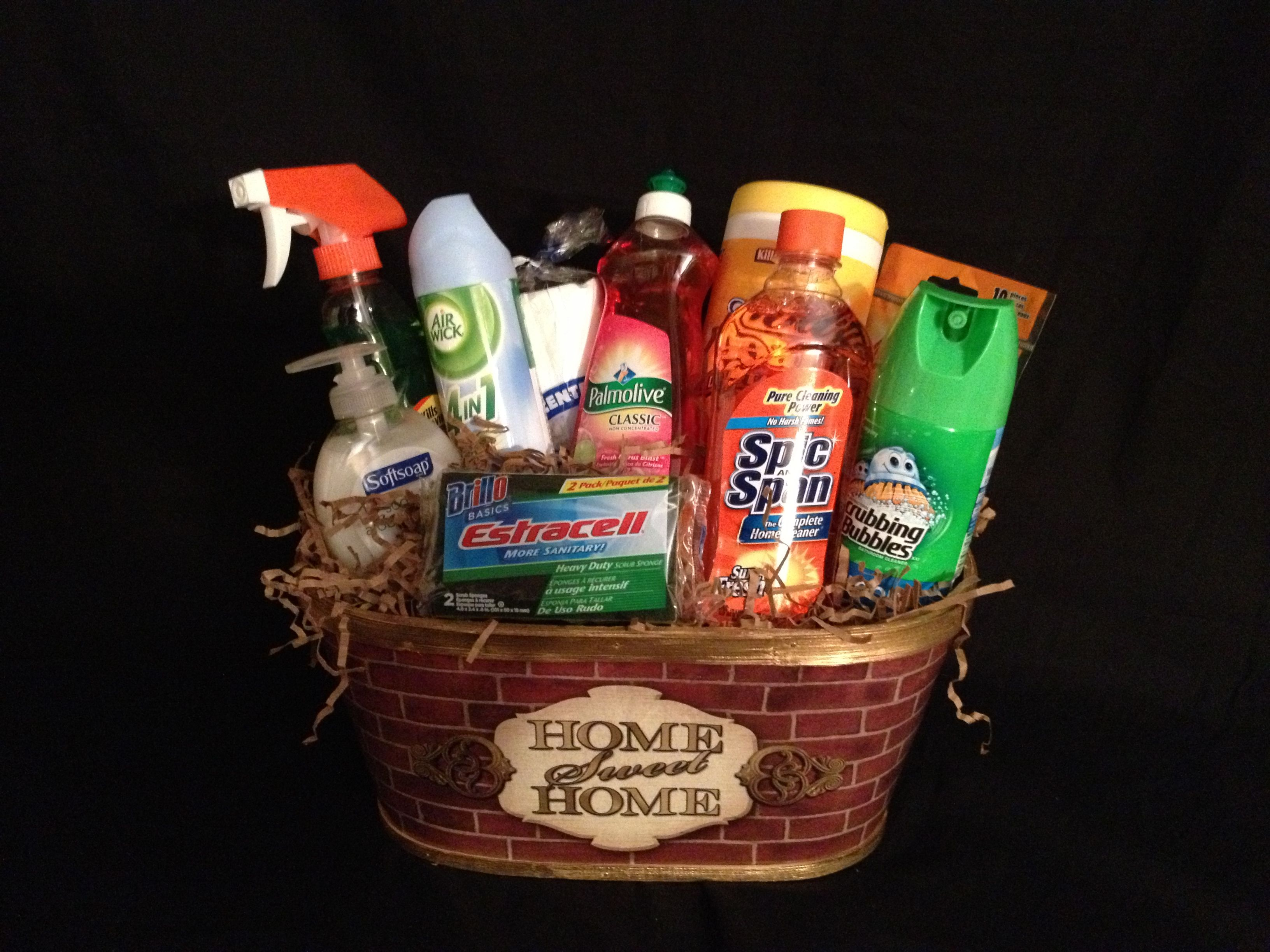 Home Sweet Home Basket This Basket Contains The Essential