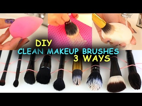Photo of How To Clean Makeup Brushes & Beauty Blenders + 3 Ways + DIY Makeup Brush Cleane…