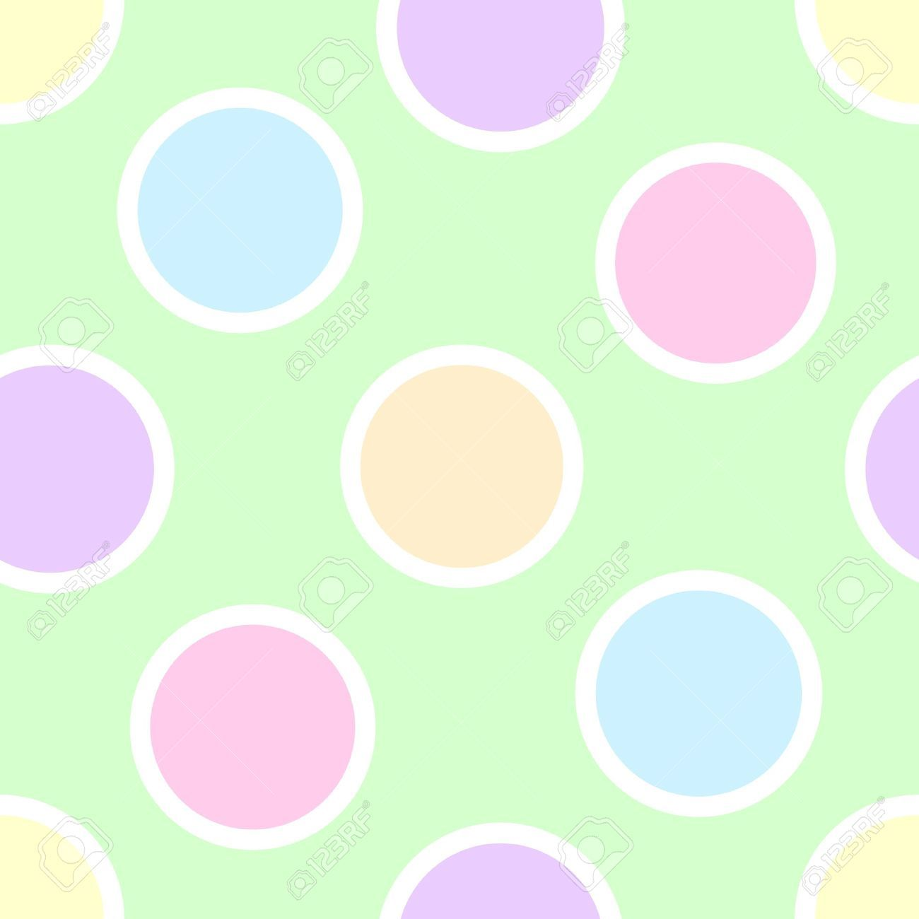pastel rainbow polka dot background google search
