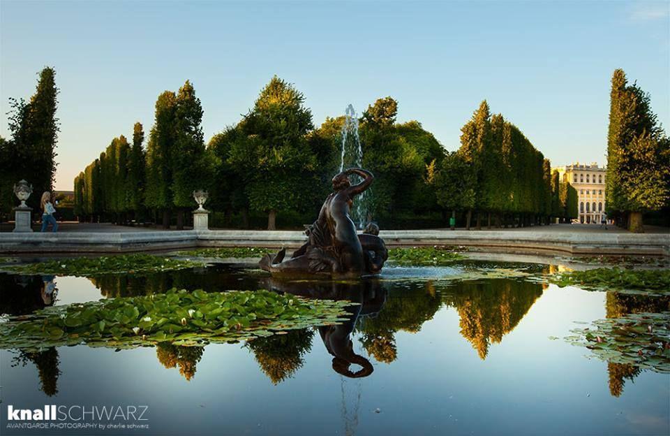 Najaden Bassin im Schloßpark Schönbrunn