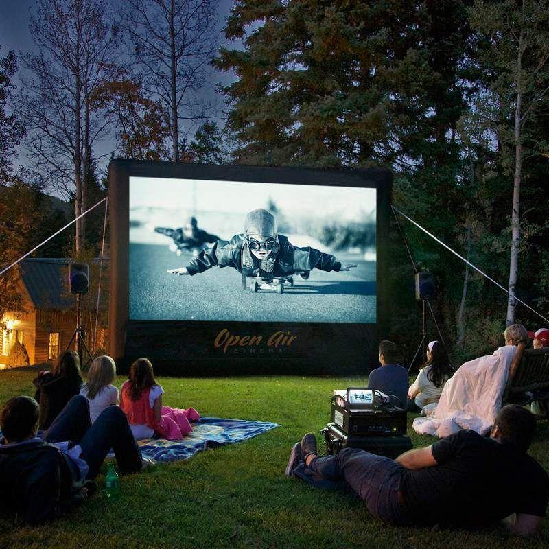 Open Air Cinema CineBox Home 20'x11' Backyard High Def