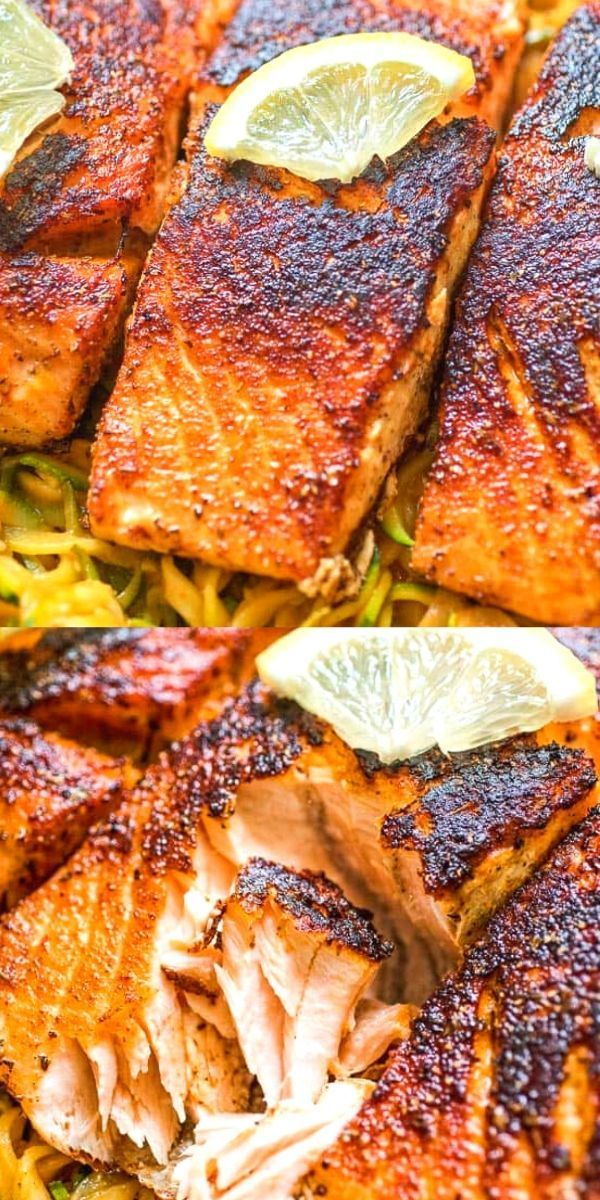 Photo of Easy Blackened Salmon (Video)