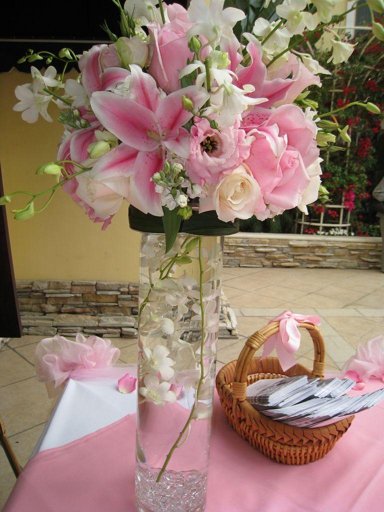 Fancy tall flower arrangements wedding decorator blog orange fancy tall flower arrangements wedding decorator blog mightylinksfo