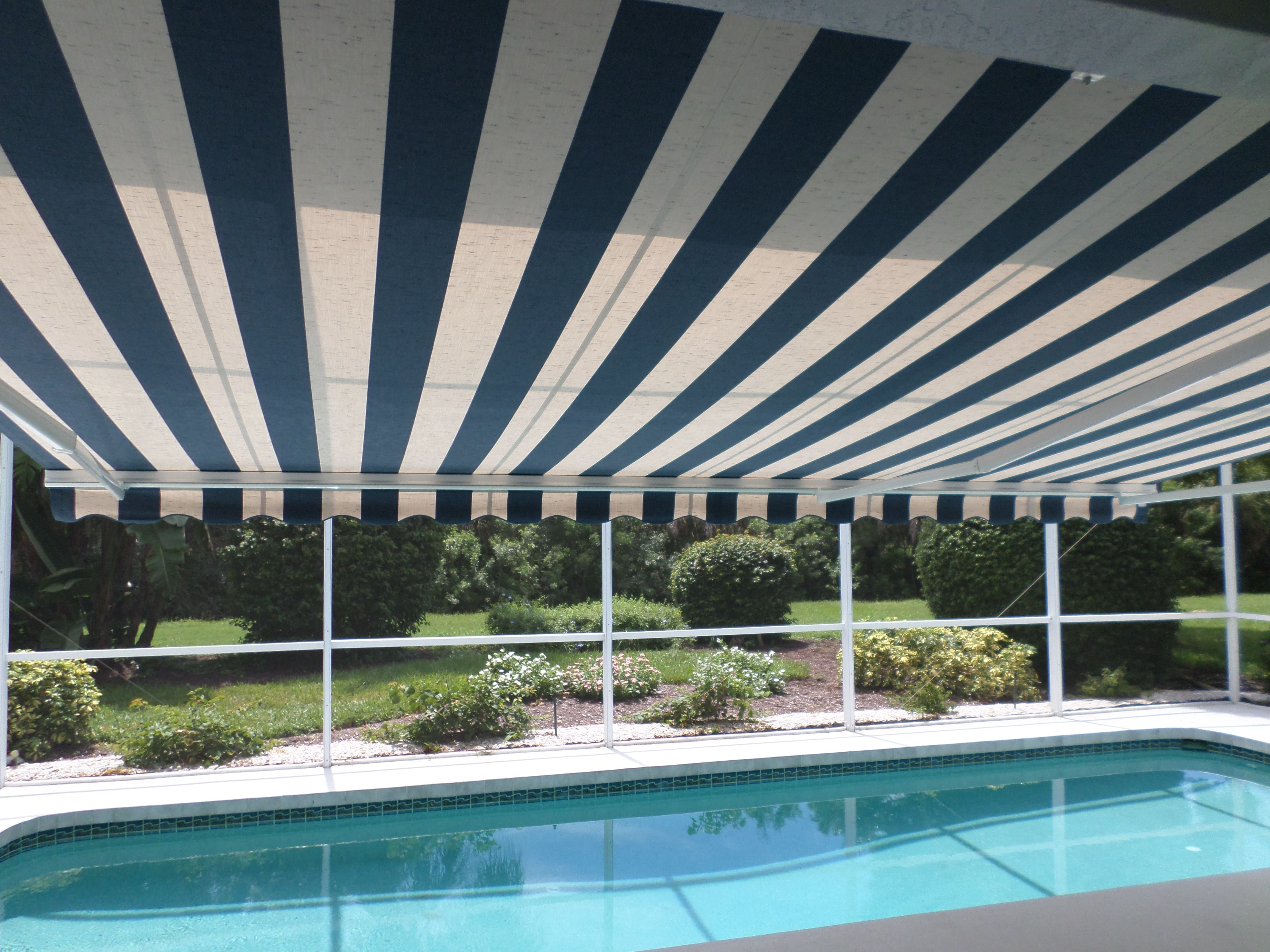 Turn A Sunny Lanai Into Shady Oasis With Retractable Awning