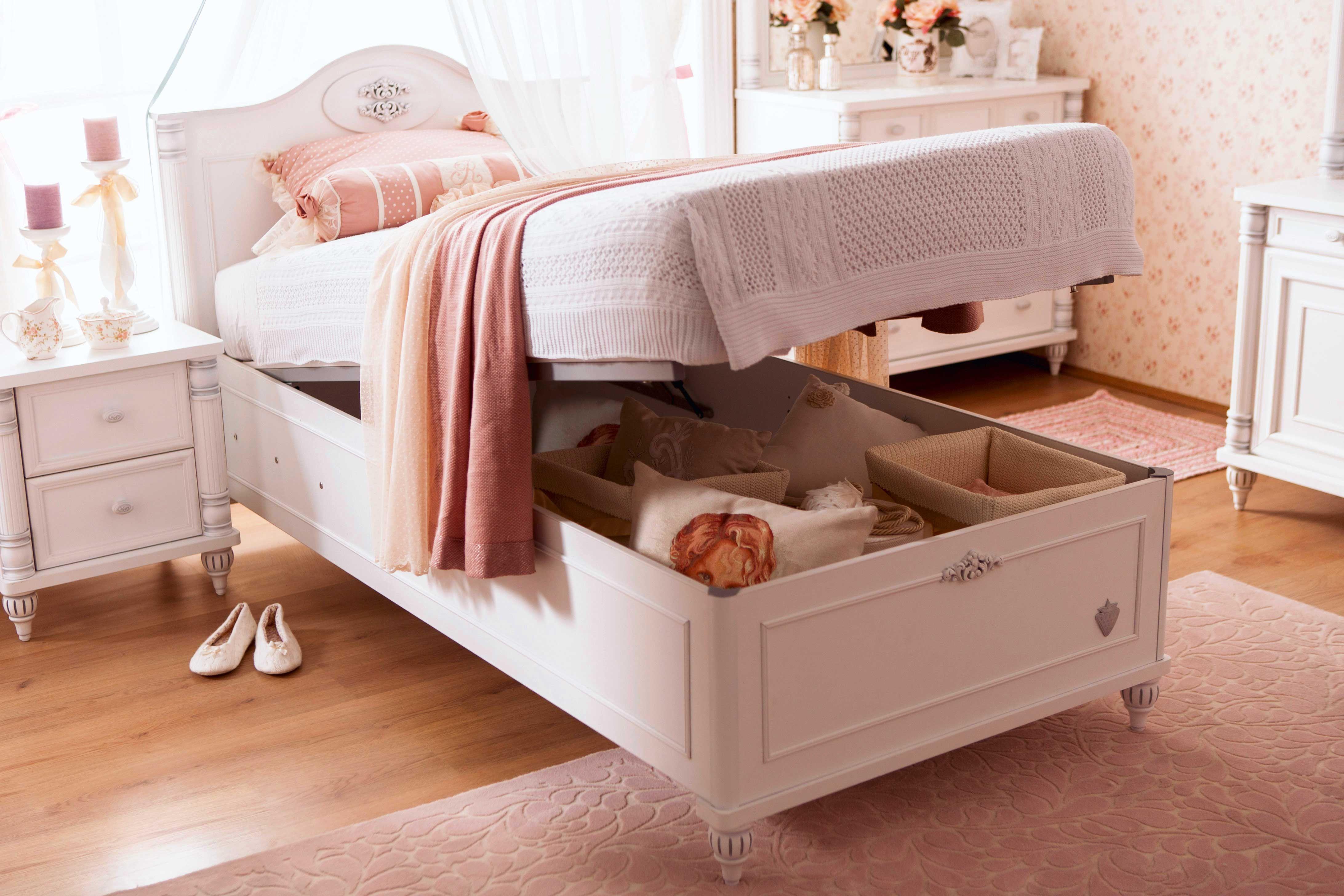 Cilek Romantic Bett mit Bettkasten Betten für kinder