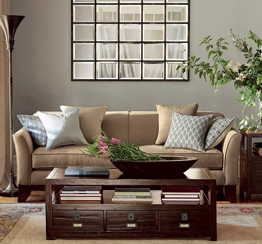 Using A Mirror To Cheat A Window Pottery Barn S Eagan Multipanel