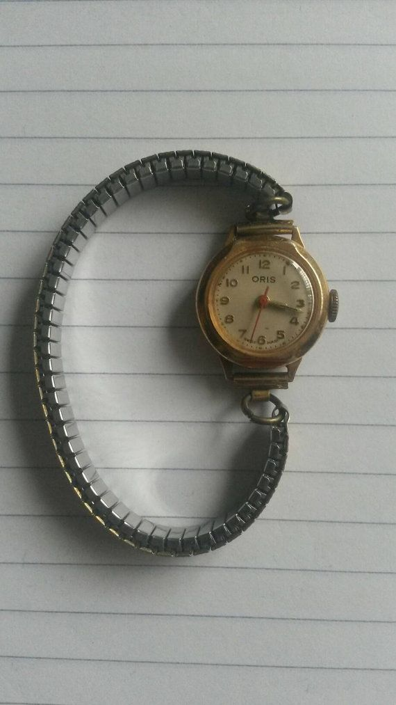 318972a3a Oris vintage ladies watch top gold plated, mechanical manual winding ...