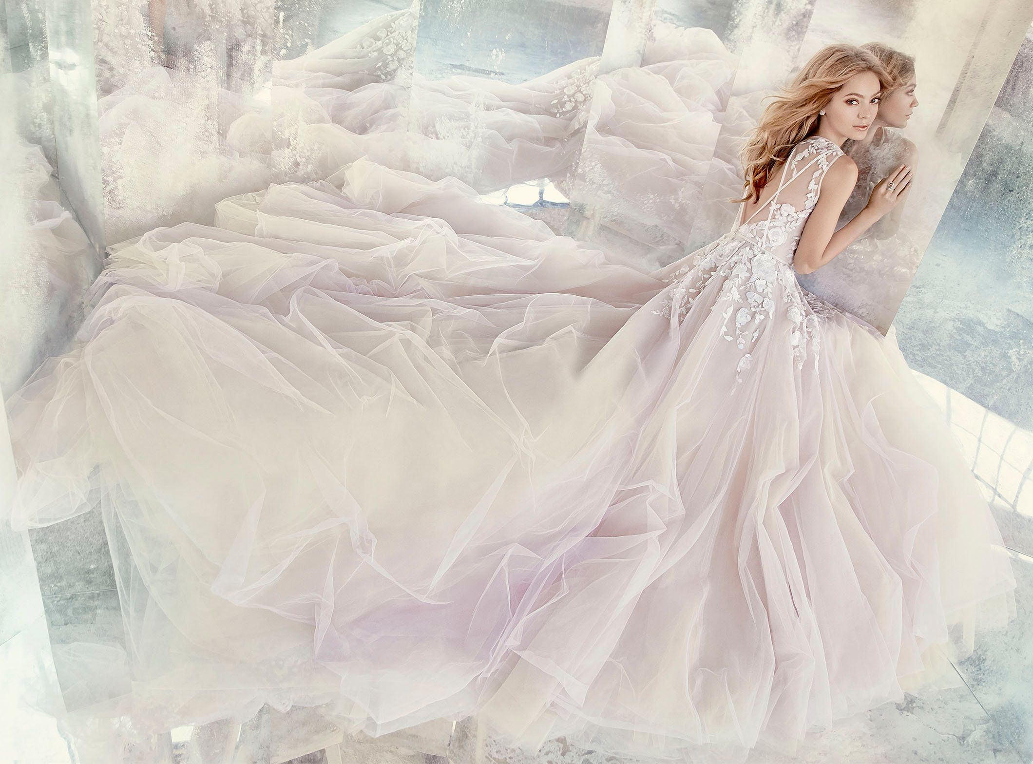 Simple modern wedding dress  Bridal Gowns and Wedding Dresses by JLM Couture  Style