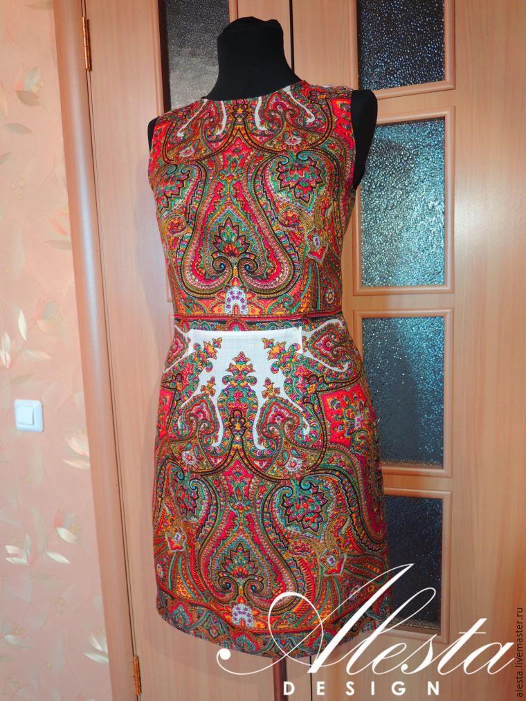 как сшить платье из платка