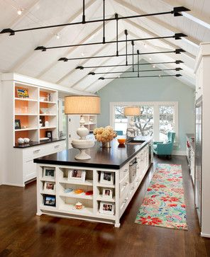 Vaulted Ceiling With Collar Ties Design Ideas Pictures
