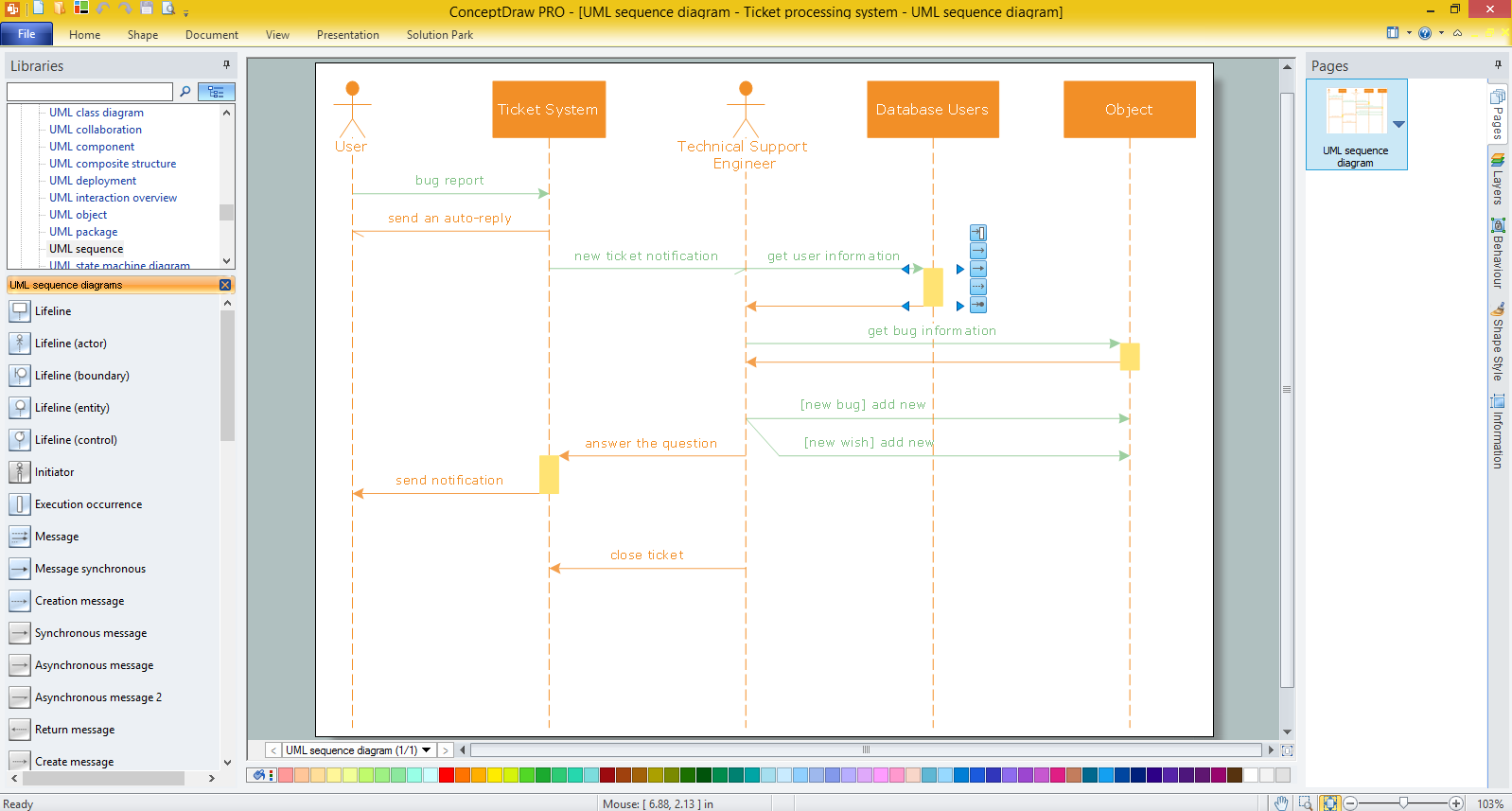 uml sequence diagram for tax payment process this sequence diagram example is brought to you by the uml tool provided by visual paradigm https - Sequence Diagram Free Tool