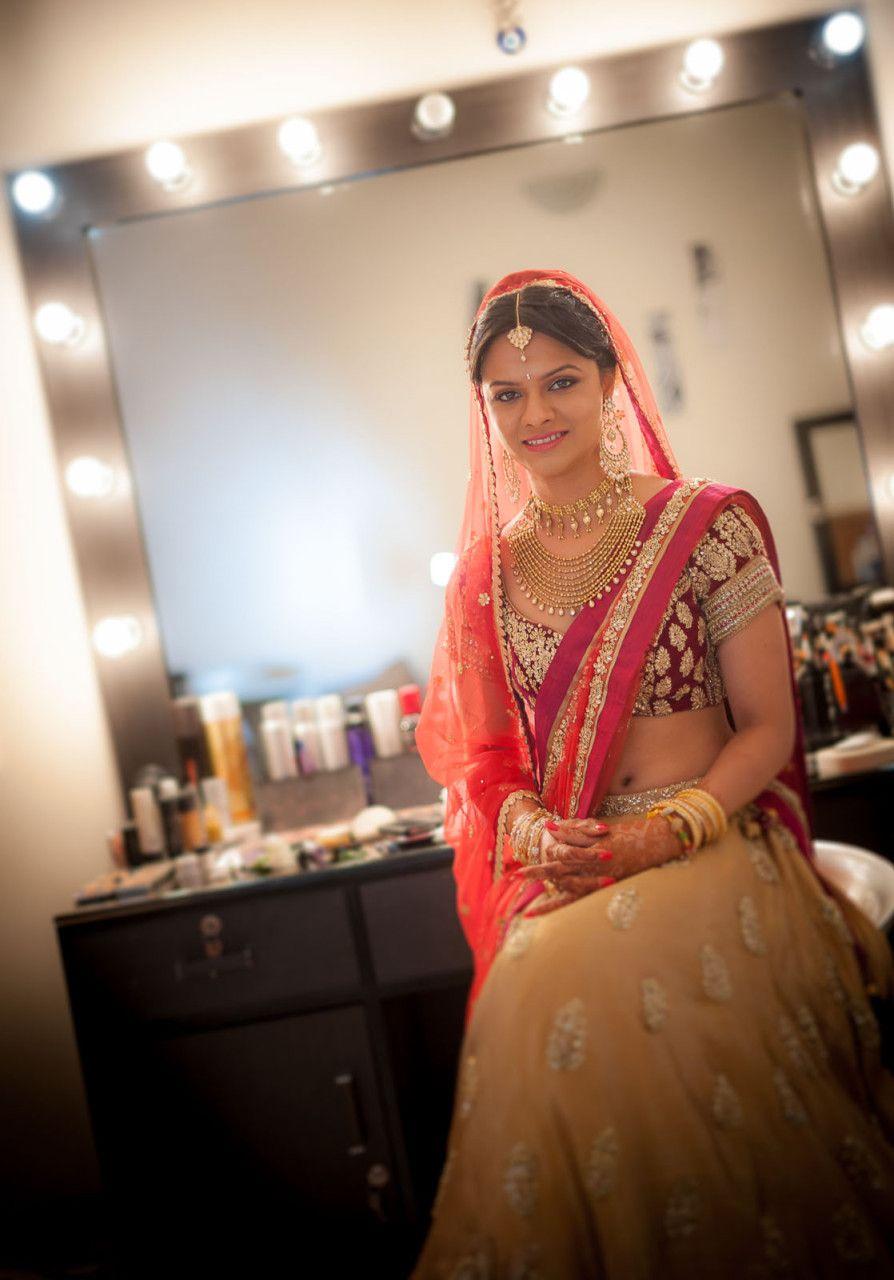 Wedding Photography Portrait Punjabi Bride Taj Hyderabad