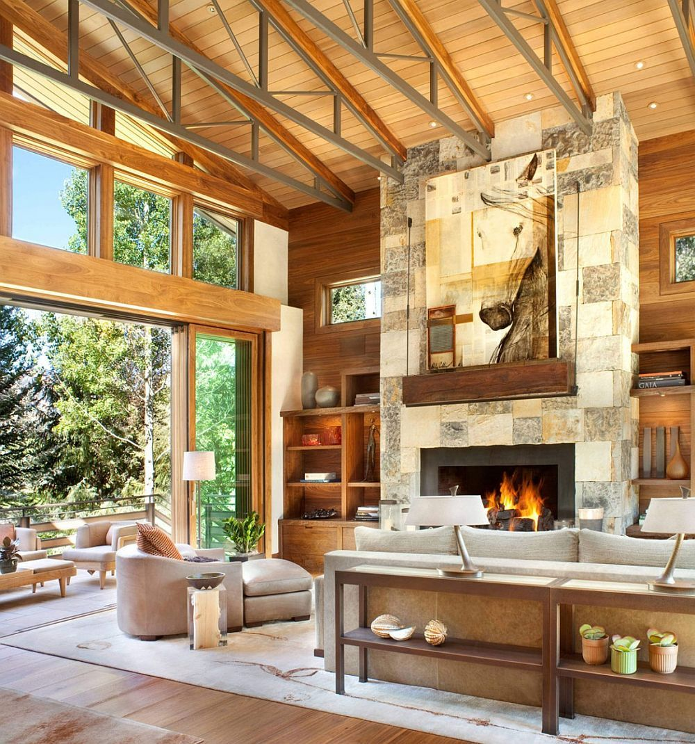 Montana Ranch House By Suyama Peterson Deguchi: Colorado Mountain Home By Suman Architects Leaves Your