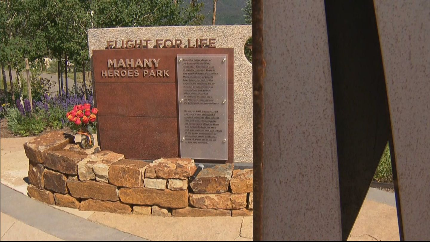 Flight for life crash victims honored at park named after